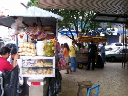 Street Snacks In La Exposicíon