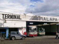 Bus Station In Santa Cruz, Costa Rica
