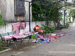 Kuna Woman Selling Crafts In Casco Viejo