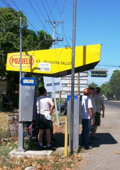 Waiting For The Bus, Costa Rica