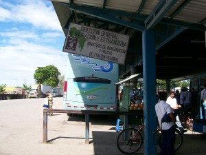 Final Border Control, The Bus Waiting For Us