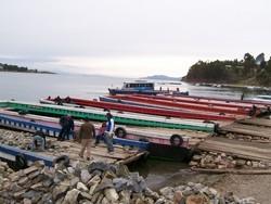 Bolivian River-crossing