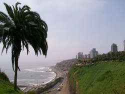 The Beach In Miraflores