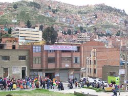 Demonstrating In La Paz