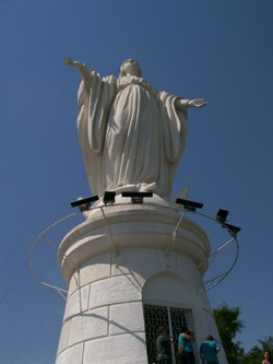 The Virgin On Top Of The Hill