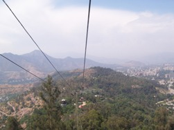 Cable Car To The Hill