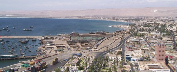 Arica From The Hill