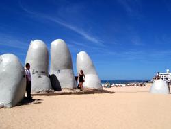 Giant Hand In Punta Del Este
