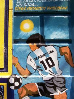 Maradona By The Boca