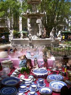 Flea Market In Montevideo
