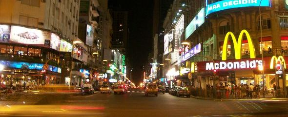 Nearby Avenida De Mayo