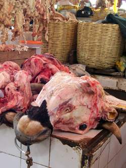 Meat At The Market, Arequipa, Peru