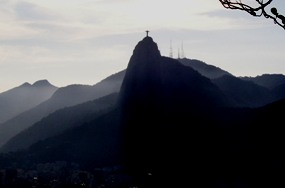 The Corcovado On Top Of The Mountains