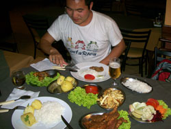 Diner In Porto Alegre, Brazil