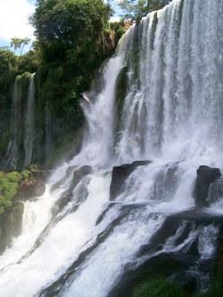 Powerful Waterfall Curtain
