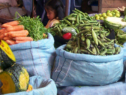 Veggies At The Market, Peru
