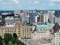 Chateau Laurier and Rideau Area