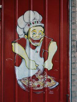 Little Italy's Murale