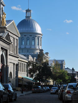 Dome of the Bonsecours Market