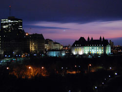 Ottawa at Sunset
