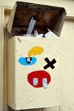 Alien Mailbox