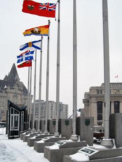Confederation flags