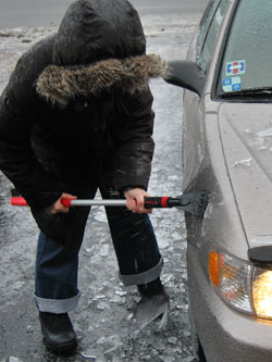 Scraping The Ice