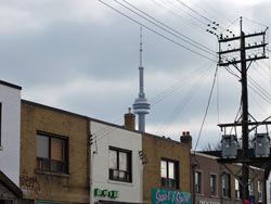 CN Tower And Shops