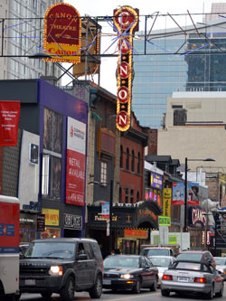 Yonge Street By Day