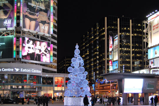 Dundas Square & Eaton Center