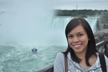 Cecille at NIagara Falls
