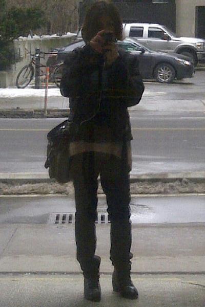 The Stupid Selfie, Ottawa, February 2013