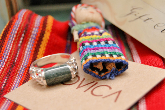 Ring and Pouch