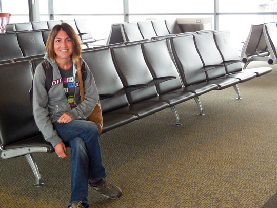 Waiting at Ottawa Airport
