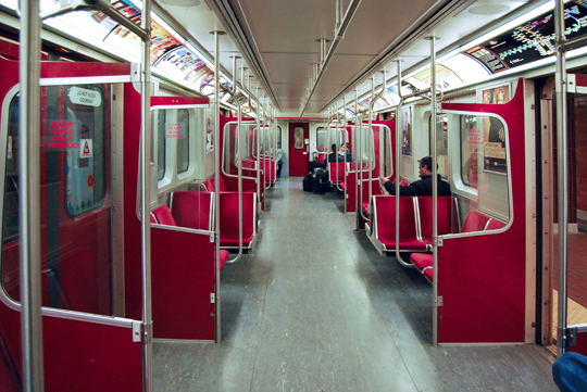 Subway to Downtown Toronto