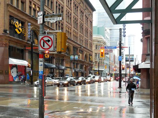 Rainy Yonge Street