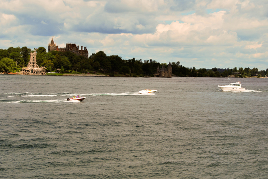 Boating on the St Lawrence