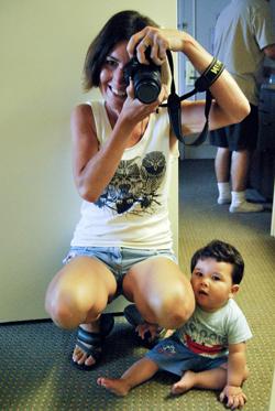 Mirrors are fun!