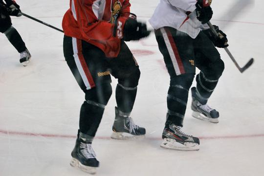 Ottawa Senators Practice at Canadian Tire Centre