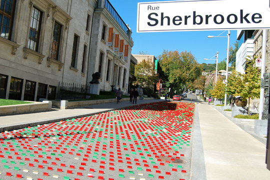 Art on Sherbrooke Street