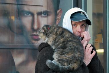 Homeless in Ottawa, December 2009