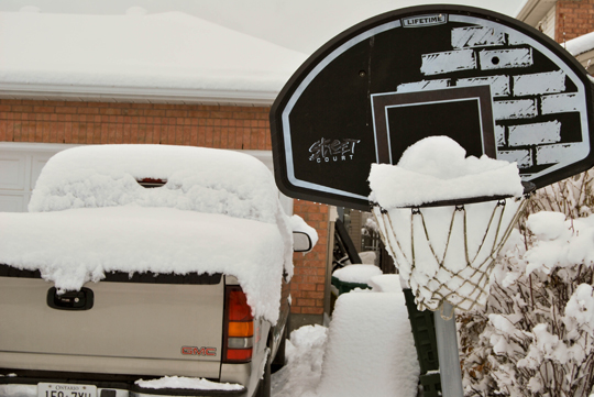 Truck and Basketball