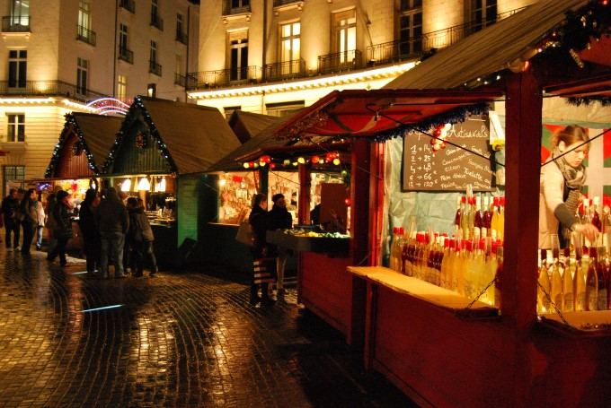 Christmas Market in Nantes