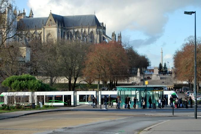 Tramway in Nantes