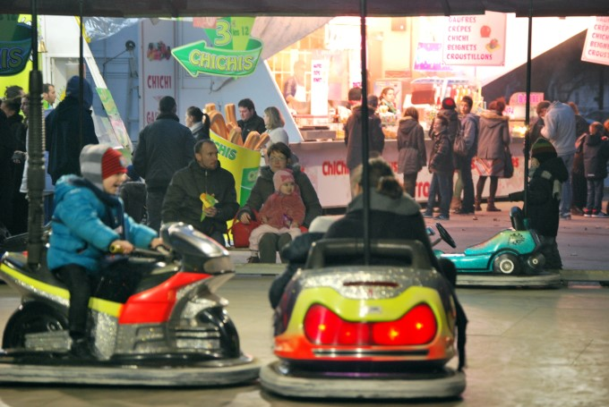 Bumper Cars in Nantes