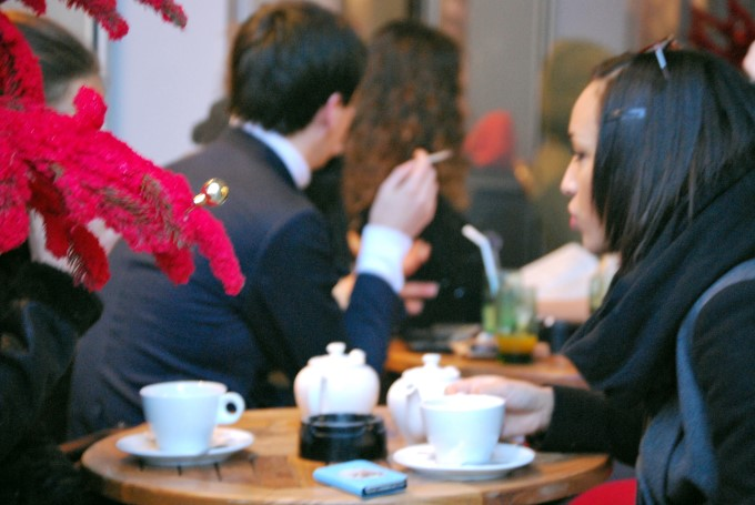At he Café
