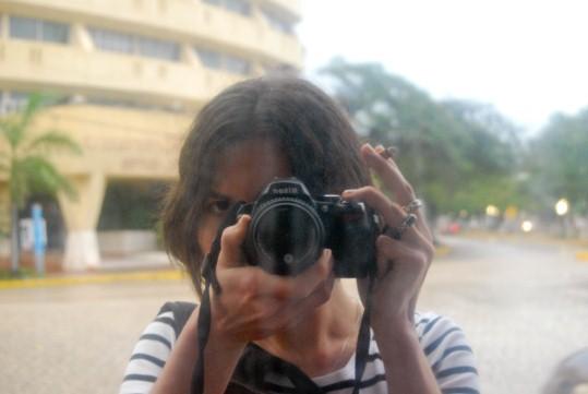 Self Portrait in Cancun