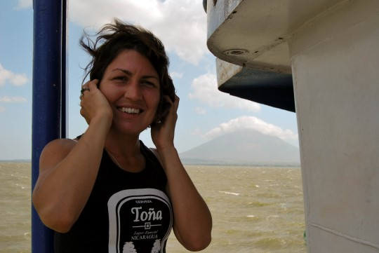Ferry to Omotepe in San Jorge