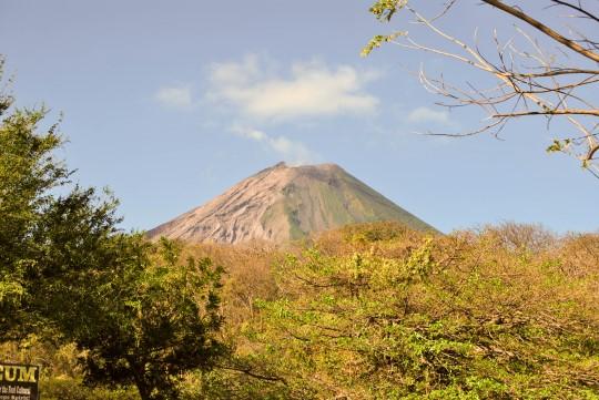Concepción Volcano on a Clear Day