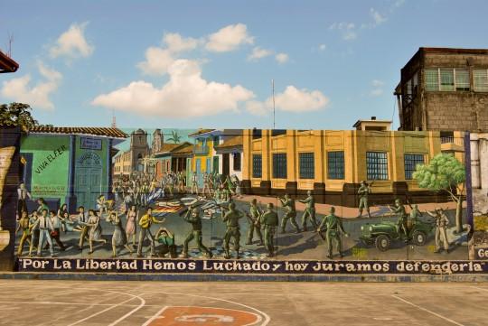 Political Murals Everywhere!